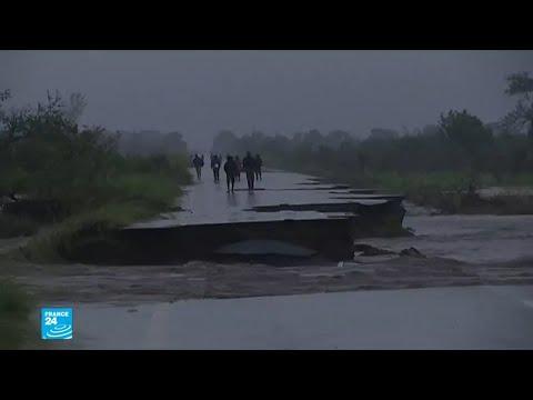 شاهد صورا من الأمطار الطوفانية في موزامبيق  - نشر قبل 28 دقيقة