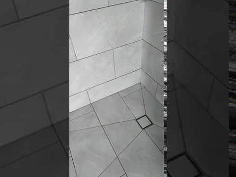 Wetroom Project Using Large Format Porcelain Tiles Beau Tiling