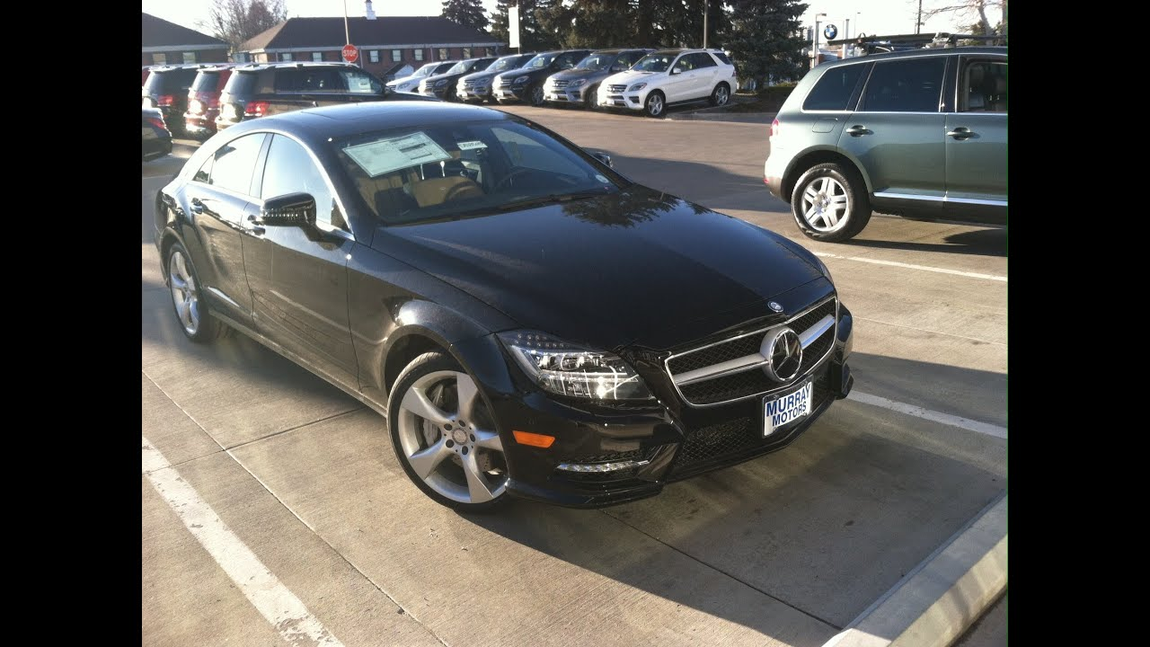 Wonderful 2014 Mercedes Benz CLS550 4MATIC (Start Up, In Depth Tour, And Review    YouTube