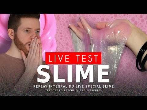 LIVE TEST : faire du Slime (replay)