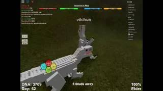 Roblox Dinosaur Simulator   Indominus Rex Gameplay