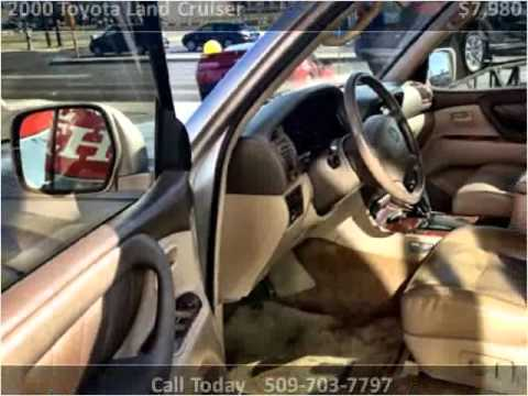 2000 Toyota Land Cruiser Used Cars Spokane WA