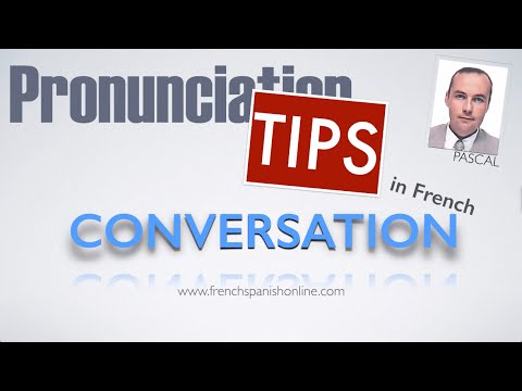 French Conversation with liaisons and abbreviations