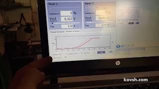 Проверка централизации програмным тестером DT UNI ТНВД ZEXEL VRZ на  Mitsubishi Pajero III 3.2d 4M41