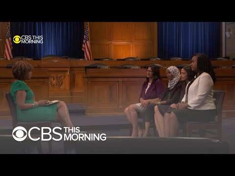 """""""The Squad"""" : Gayle King&39;s  conversation with AOC Omar Pressley & Tlaib"""
