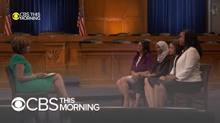 """The Squad"" interview: Gayle King's full conversation with AOC, Omar, Pressley & Tlaib"