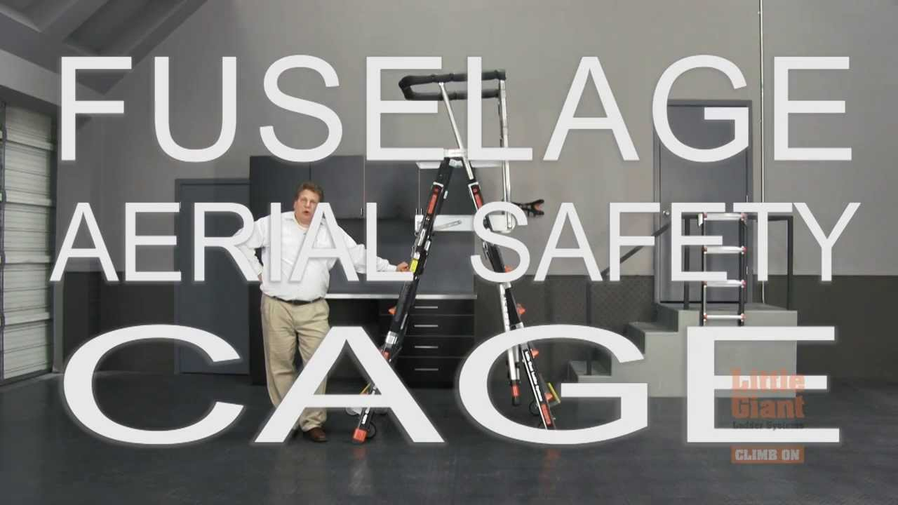 Little Giant Ladder Systems Fuselage Aerial Safety Cage