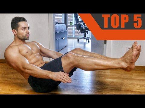 Top5 - Effektivste Bauchmuskelübungen