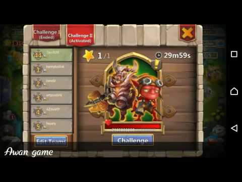 Easy Fight Boss T5 Slow Down Strategy (f2p Heroes) - Castle Clash