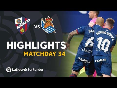 Huesca Real Sociedad Goals And Highlights