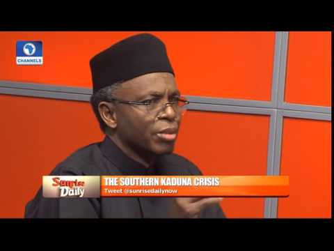 GOVERNOR EL RUFAI OF KADUNA STATE – Speaks on Killings in Southern Kaduna, Nigeria