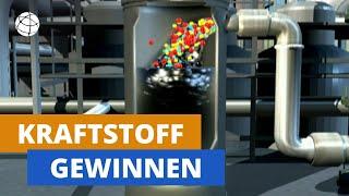 Wie gewinnt man aus Erdöl Benzin und Diesel? | frage-trifft-antwort.de | Planet Schule