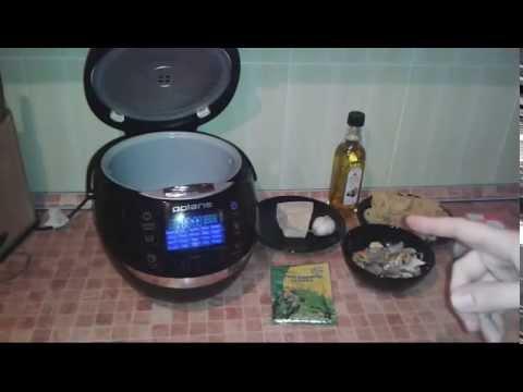 Макароны с морепродуктами в мультиварке