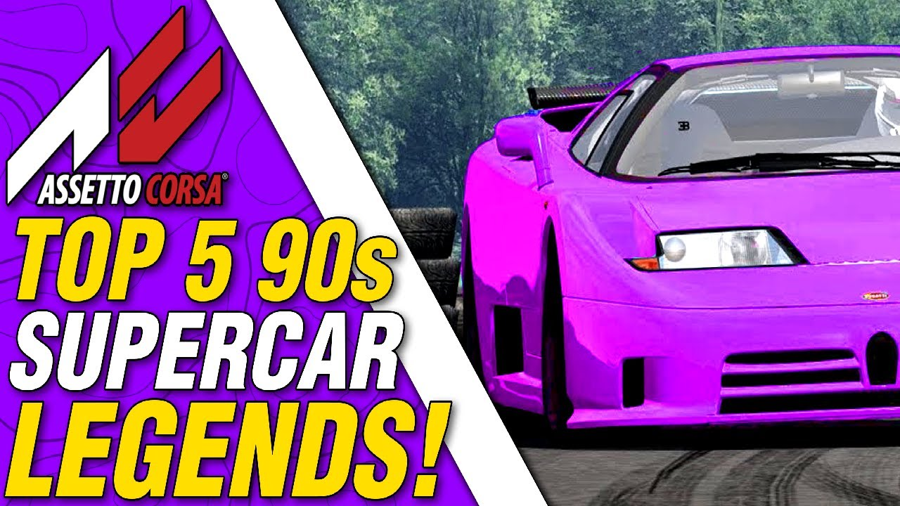 Free Best Mods in Assetto Corsa 90's Supercars