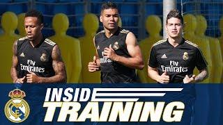 James, Casemiro and Militão start pre-season training at Ciudad Real Madrid