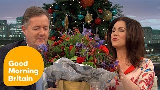 Piers Gives Susanna a Lovely Birthday Present | Good Morning Britain