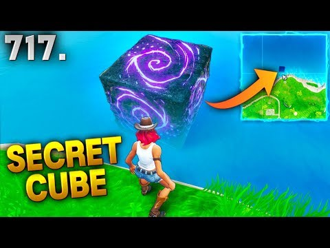 NEW *SECRET CUBE* FOUND?! - Fortnite Funny WTF Fails and Daily Best Moments Ep. 717