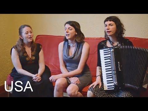Американки запели на мегрельском языке. Asho Chela