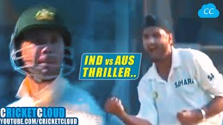 INDvAUS - LOW SCORING THRILLER - CAN INDIA DEFEND 107 ?