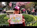 2018 Map Easter Disneyland Egg-Stravaganza Characters Egg Hunt Game Throughout Park
