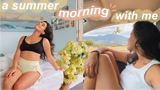 spend the morning with me ☆ a summer morning routine