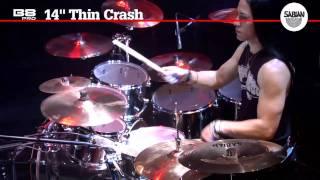 sabian 14 b8 pro thin crash cymbal