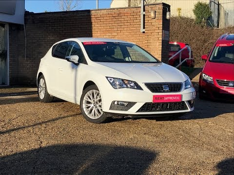 Bartletts SEAT offer this 2017 Leon 1.2 TSI SE Dynamic Tech in Hastings