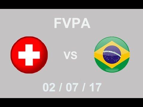 FVPA | Suisse vs Brésil