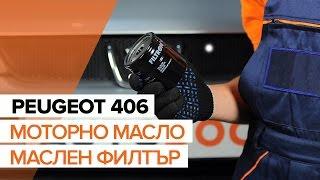 Как се сменят Жило За Ръчна Спирачка на PEUGEOT 406 (8B) - онлайн безплатно видео