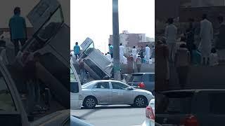 Accident in makkah