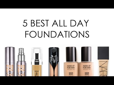 THE FIVE BEST ULTRA LONG WEAR FOUNDATIONS