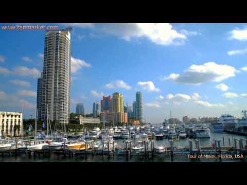 Miami, Florida, USA 10 Collage Video - youtube.com/tanvideo11