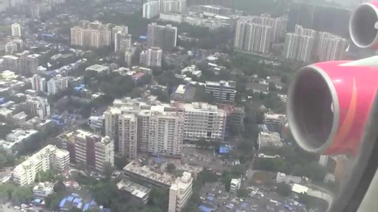 Image result for mumbai airport landing
