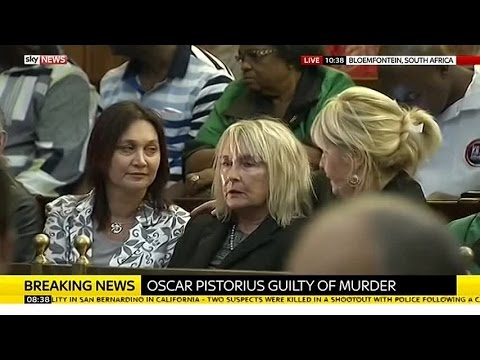 Oscar Pistorius Found Guilty Of Murdering Reeva Steenkamp