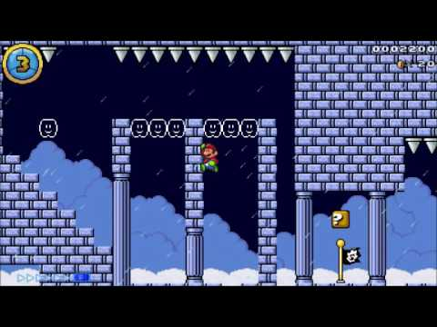 Mario Editor Showcase - Wall Jumps N' Spikes