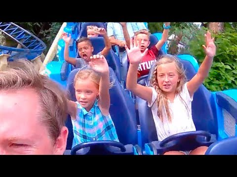 BEST Kid Roller Coaster Rides at LAGOON 2018!