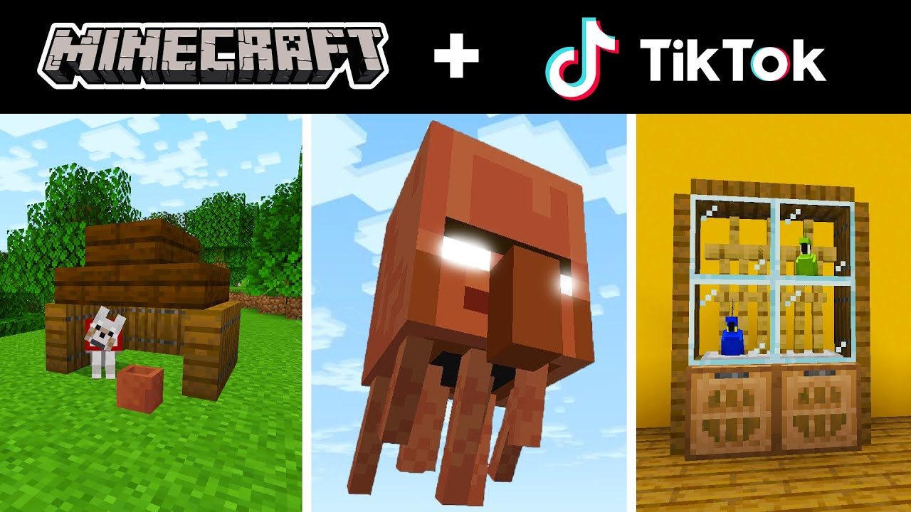 Minecraft Tik Tok Compilation 23