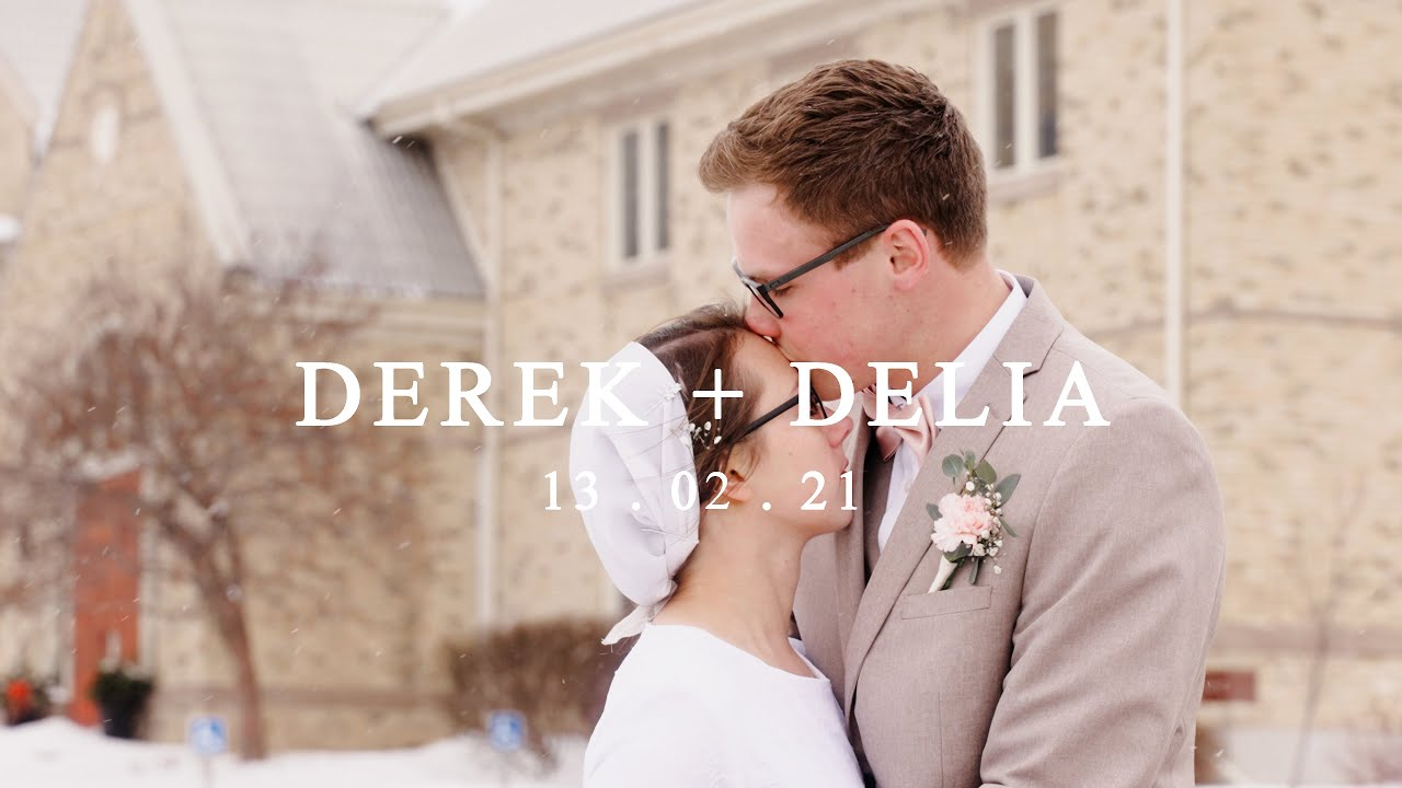 Delia & Derek - Canadian Winter Wedding Highlight Film