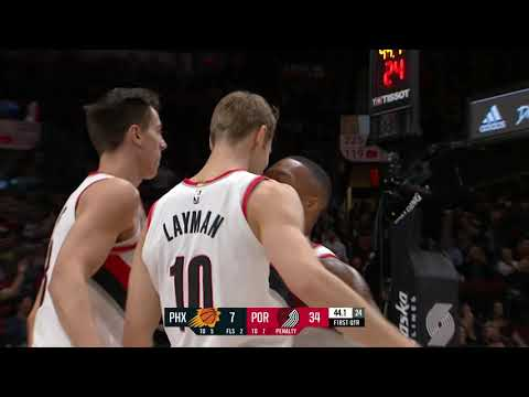 Phoenix Suns vs Portland Trailblazers | December 6, 2018