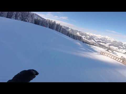 Ski à St-Gervais Mont-Blanc~février 2017