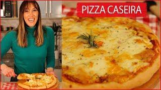 Como fazer Pizza em Casa Crocante por Fora e Macia por Dentro
