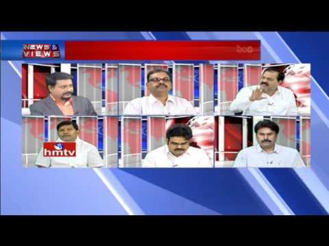 Debate on TJAC Prof Kodandaram Sensational Comments on Unemployment In TS | News & Views |  HMTV