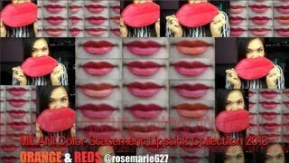 REVIEW: MILANI Color Statement Lipstick Collection 2013 (Orange & Reds) Thumbnail