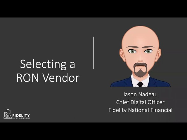 How to Select a RON Vendor