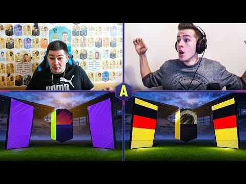 NIESAMOWITA PACZKA! 4x WALKOUT W WOJNIE NA PACZKI! ADRYAN VS JUNAJTED | FIFA 18