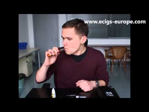 Ecigs Europe X6 Bumblebee How to Use