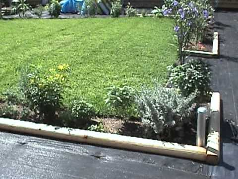 High Quality Gardening Tips Landscape Timber Borders.mpg