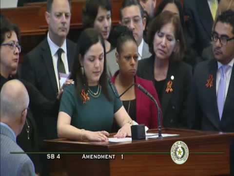 House Chamber - SB 4 Am 1: Rep. Hernandez on Growing Up Undocumented - April 26, 2017