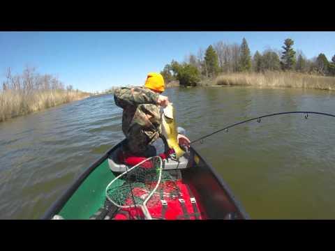 GoPro: Bass Fishing Port Austin, Michigan