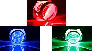 LED Demon Eye Halo Ring for Projector Headlight Retrofit